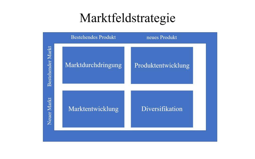 Die Marktfeldstrategie: Produkt-Markt-Matrix von Ansoff einfach erklärt
