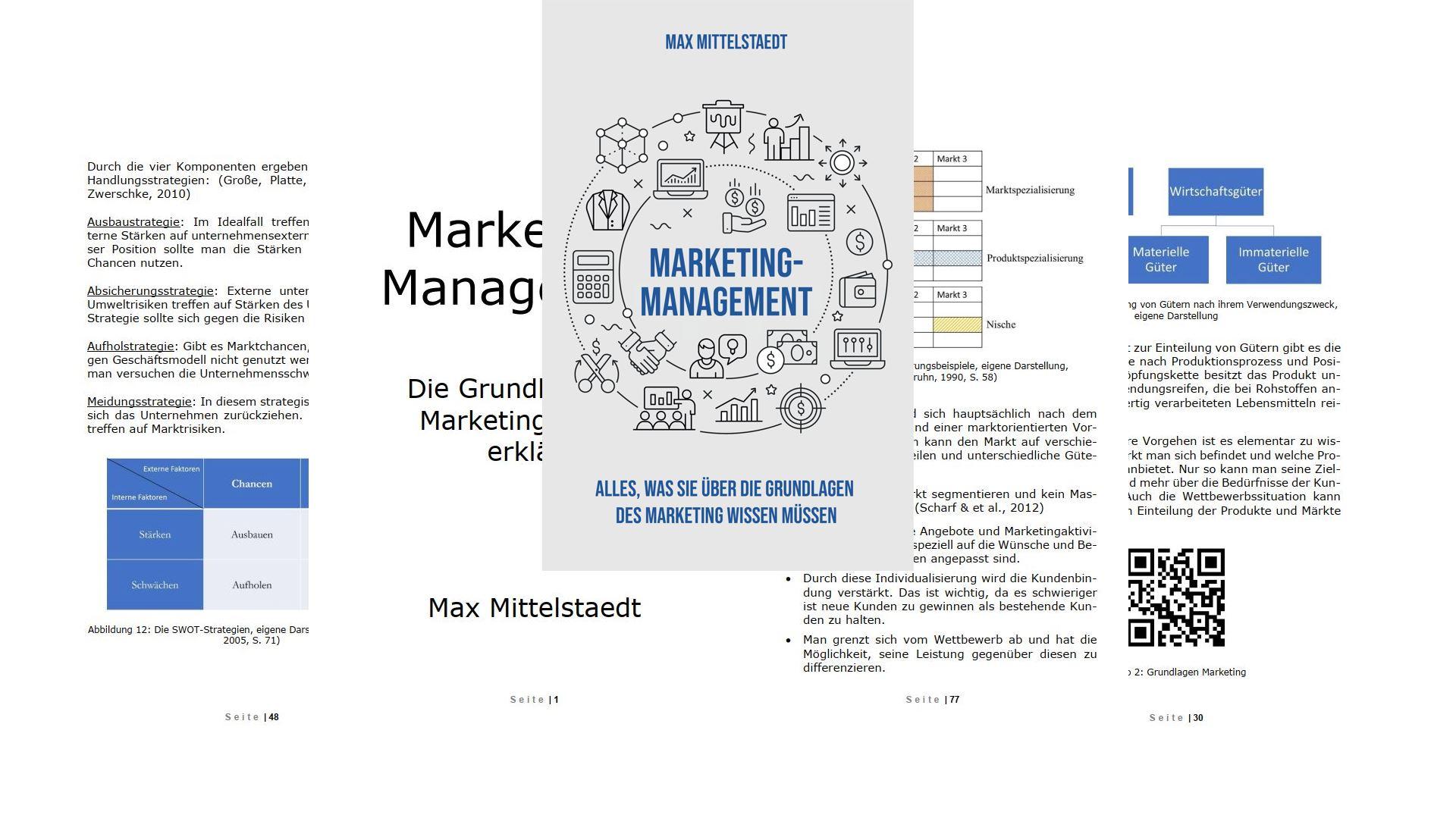 Marketing Management Buch Vorschau