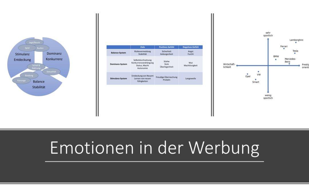 Emotionen in der Wirtschaftspsychologie: Welche Rolle spielen Emotionen in der Werbung?