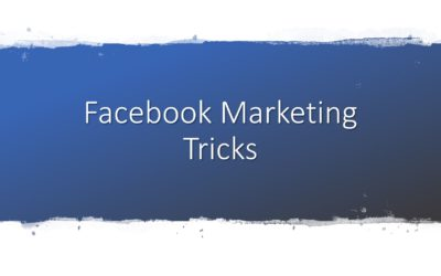 Facebook Marketing Tipps