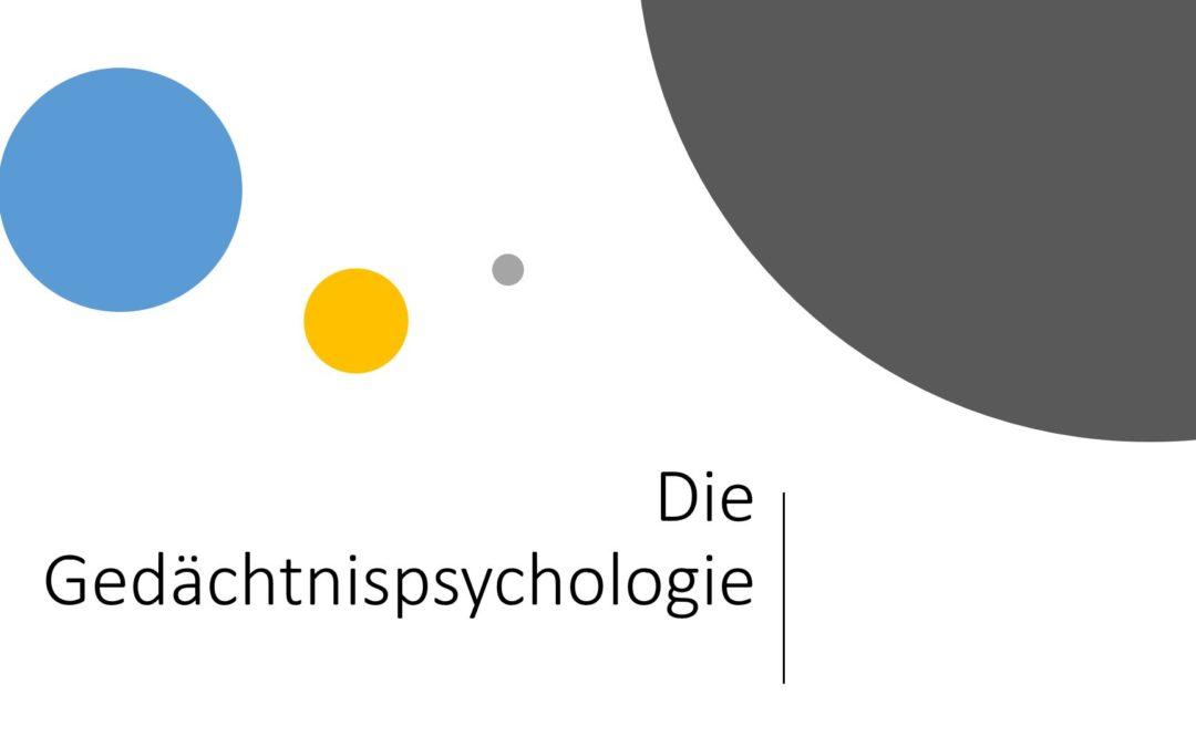 Das Gedächtnis im Marketing – Gedächtnispsychologie