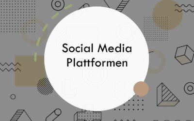 Die Social Media Plattformen