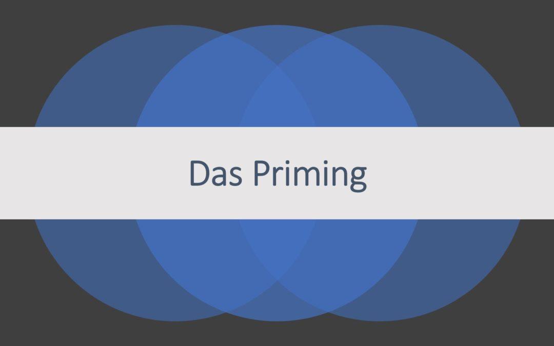 Der Einsatz von Priming im Marketing