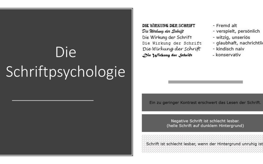 Die Schriftpsychologie und Gestaltung von Werbetexten in der Werbegestaltung