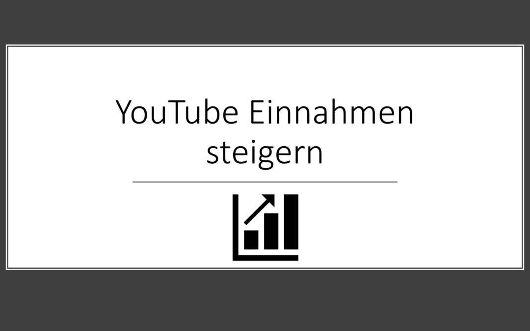 So verdienst du Geld auf YouTube – YouTube Marketing