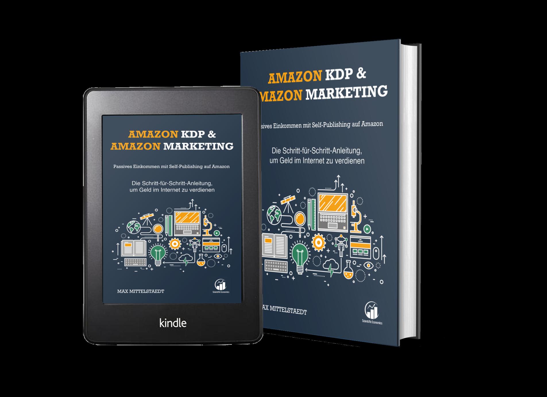 Amazon KDP Buch 3D