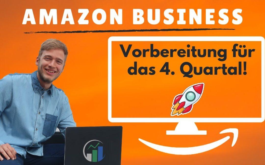 Vorbereitungen auf das 4. Quartal im Kindle Business. Mit e Commerce Geld verdienen. Amazon Q4!