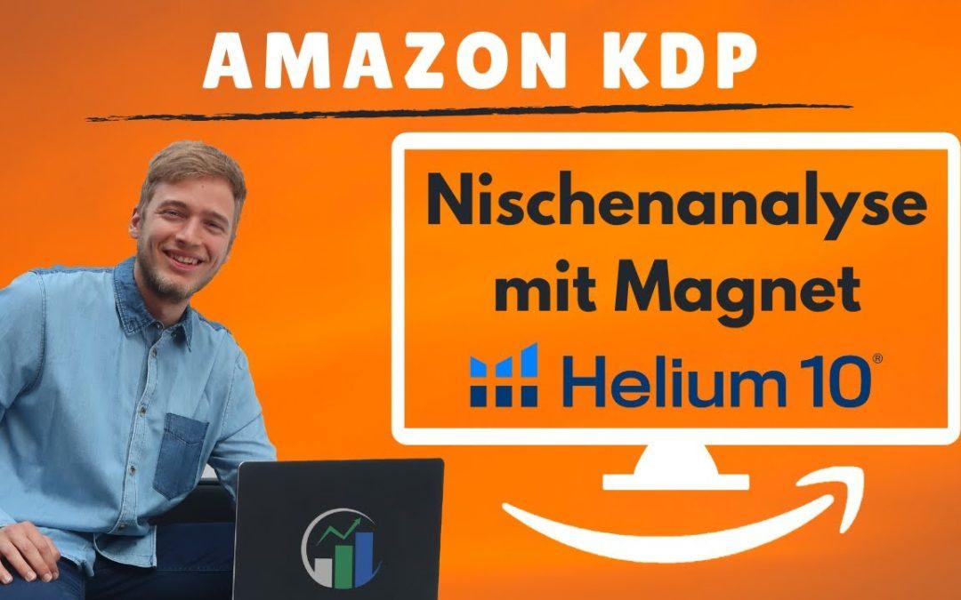 Amazon Nische finden mit Helium 10 Magnet – Helium 10 Produktsuche mit Magnet