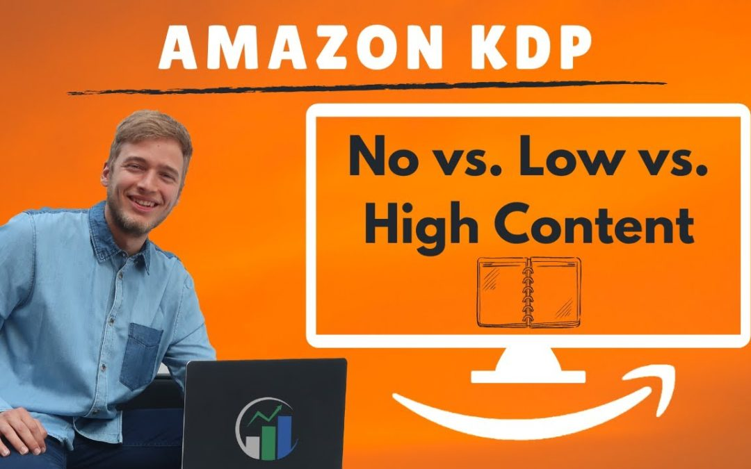 Amazon KDP low content, no content und high content einfach erklärt! Amazon KDP Notizbuch Business