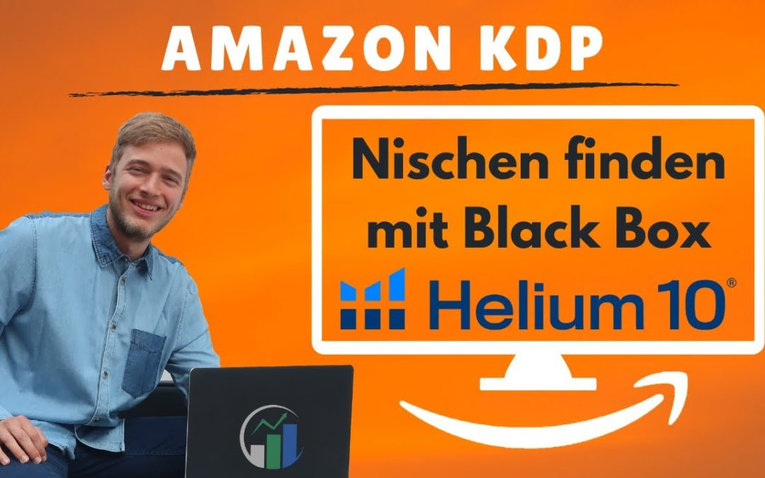 Amazon Kindle Nische finden mit Helium 10 Black Box Keywords. Die Helium 10 Keywordsuche