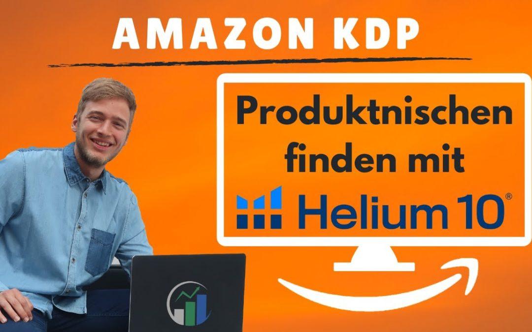 Amazon KDP Nische finden mit Helium 10 Black Box Produktsuche – Konkurrenzbücher auf Amazon finden