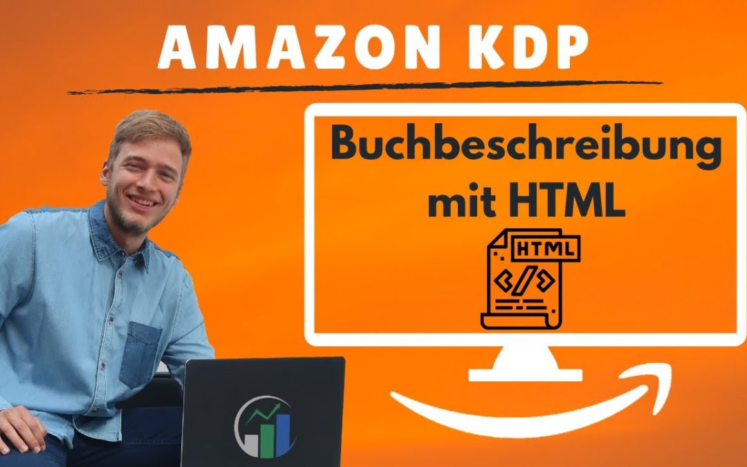 Wie du eine Buchbeschreibung mit HTML für Amazon KDP erstellen kannst.