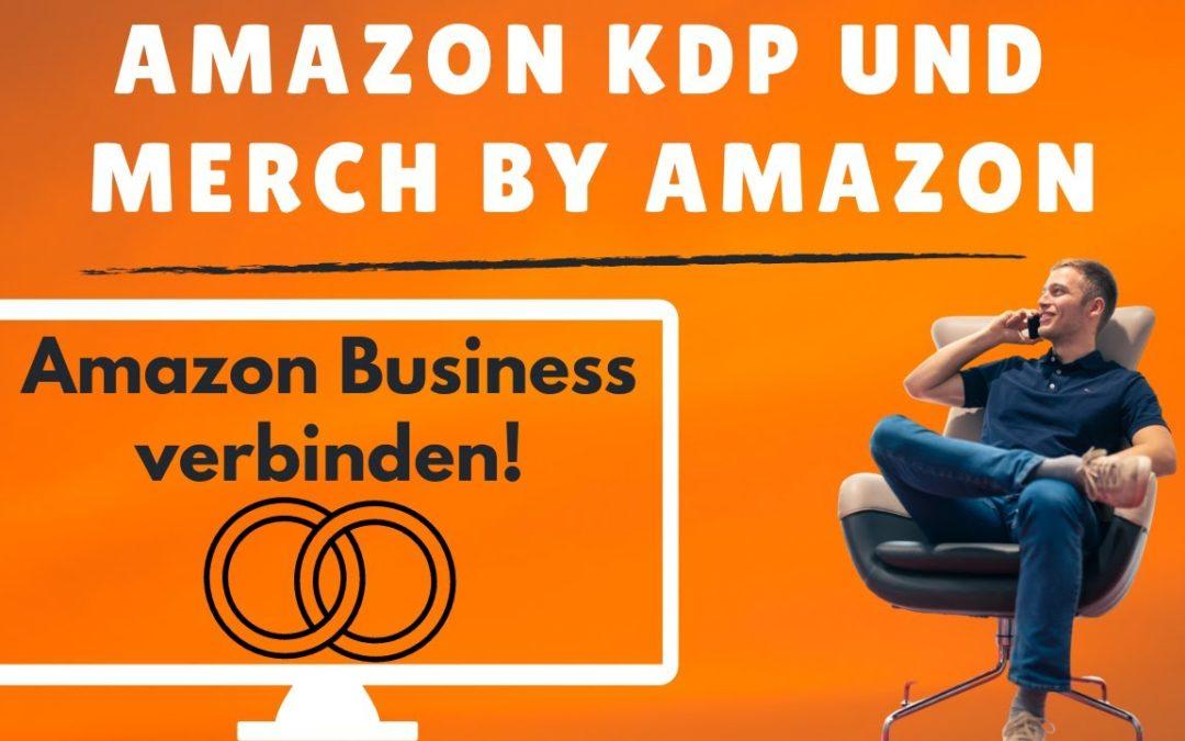 Merch by Amazon vs. Amazon KDP – Wie du beide Online Geschäftsmodelle verbinden kannst!
