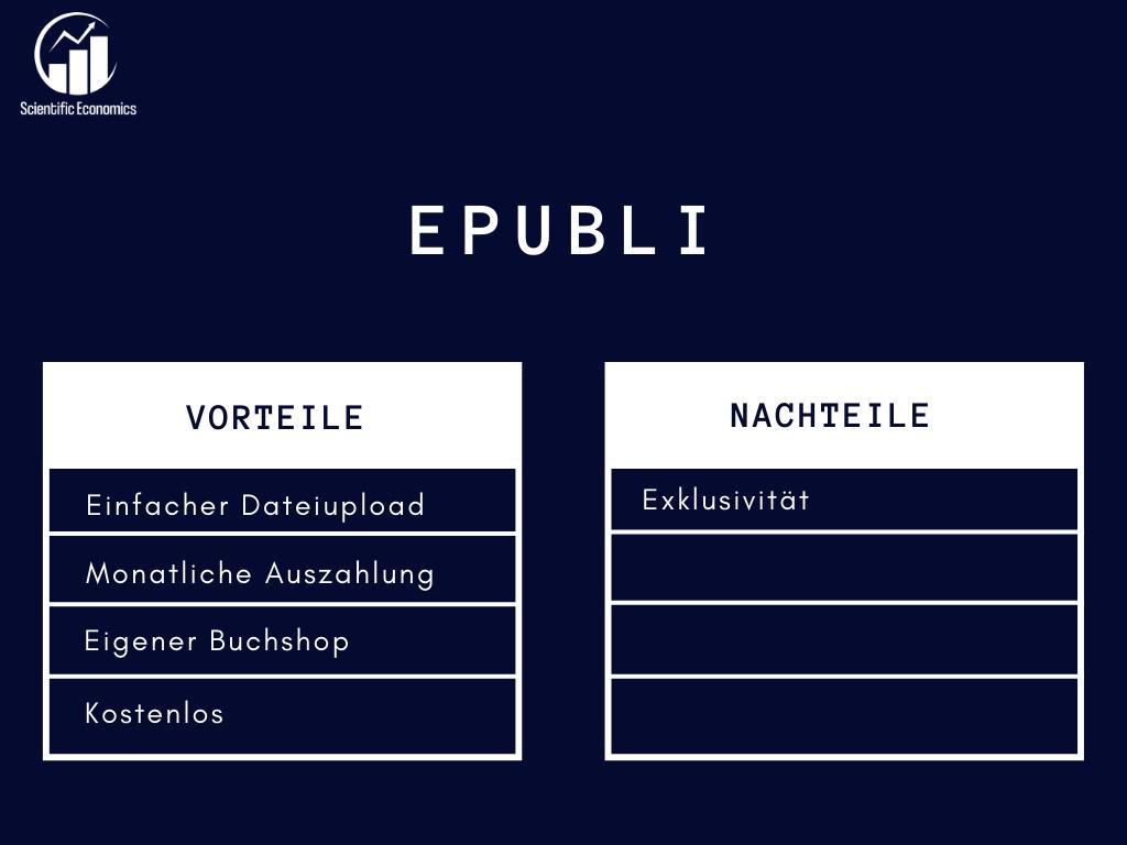 Selfpublishing mit epubli