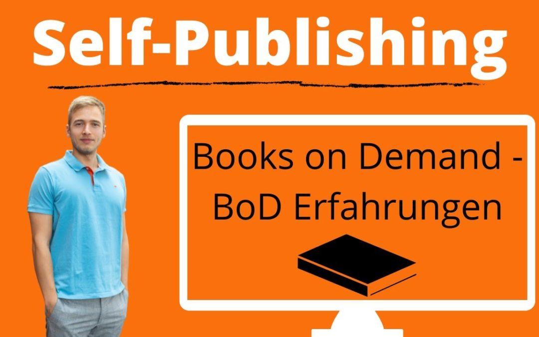 Books on Demand Erfahrung – Selfpublishing Anbieter im Vergleich – Hardcover mit BoD veröffentlichen