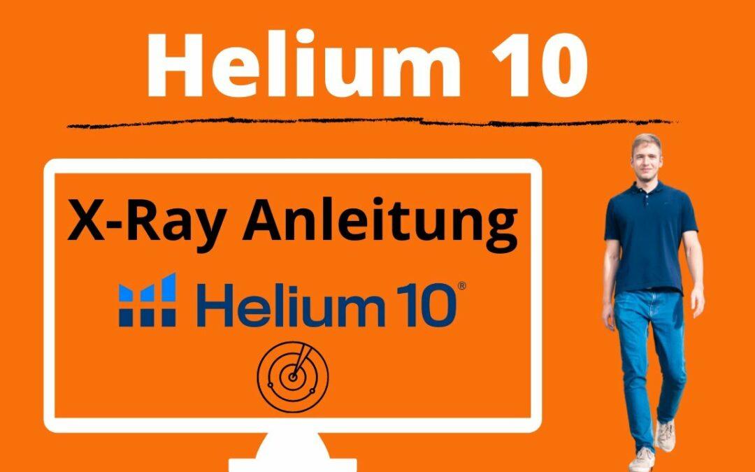 Helium 10 Xray Tutorial (deutsch) für Amazon KDP Nischenanalyse und Keywordsuche